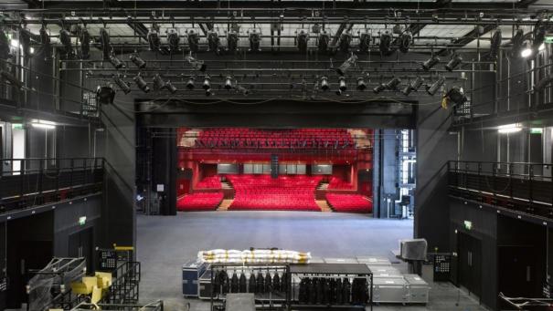 The Curve Theatre - theatre design