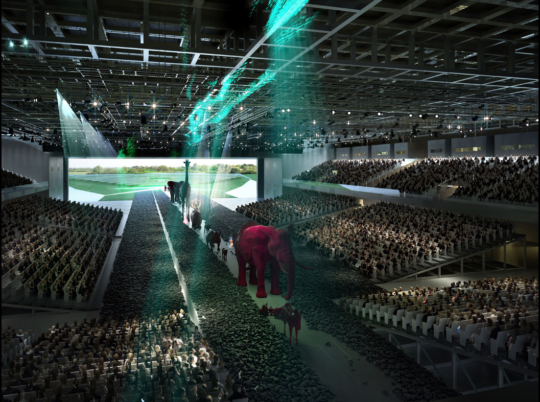Parc des Expo de Toulouse theatre consultant