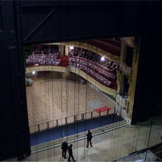 opéra de Lille - machinerie scénique